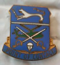 Rare 17th Cavalry Troop C. Dui Di Unit crest insignia. Asmic 17A13 German made.