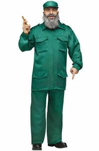 Fidel Castro Army Cuban Communist Adult Halloween Costume
