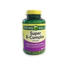Spring Valley Super B-Complex Metabolism Support 250 Tablets