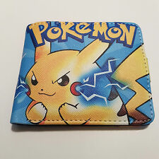 Pokemon Poket Monster Pikachu japanese kawaii cute anime wallet