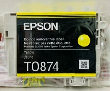 New Genuine Epson 87 Yellow Ink Cartridge Stylus Photo R1900 Printer