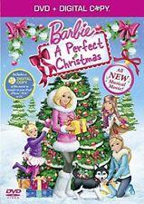 Barbie – A Perfect Christmas [DVD], , Like New, DVD