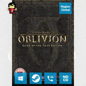 The Elder Scrolls IV Oblivion GOTY Edition PC Game Steam Key Region Free