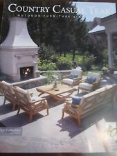 COUNTRY CASUAL TEAK CATALOG 2017 OUTDOOR FURNITURE SINCE 1977 BRAND NEW