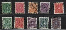 Germany, lot of 10 mint & used stamps from the 1920's, see scan