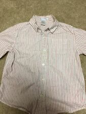 Janie And Jack Boys Sz 6 Button Down Cotton Shirt long sleeve Easter church