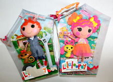NEW LALALOOPSY Ace Fender Bender Boy & Sweetie Candy Ribbon Doll Full Size Lot