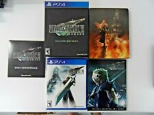 Final Fantasy Vii Remake Deluxe Edition Square Enix (Sony PlayStation 4, 2020)