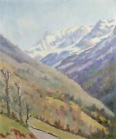 Paul DUPLEICH (20th) Mountain Luchon Valley of the Spades High Garonne Pyrenees