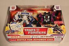 Transformers Battle for Autobot City Ultra Magnus vs Skywarp Target Exclusive