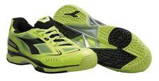 Diadora Pro ME Fluo Yellow / Black Tennis Shoes - 11.5 - Brand New in Box