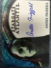 Stargate Atlantis Season 2 Autograph Card Andee Frizzell