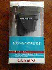 CAR MP3 WMA WIRELESS FM Modulator LCD Display with remote Control