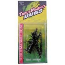 NEW   Trout   Small hellgramite  6 pc pack