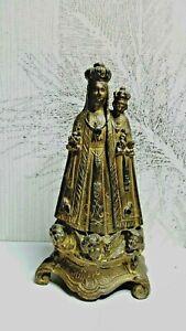 STATUE SAINTE VIERGE MARIE SACRE COEUR ENFANT JESUS EN REGULE