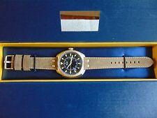 Stauer 44mm Platoon Stainless Steel Quartz Watch MUST SEE!!!