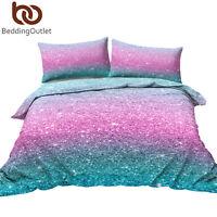 Us Pink Teen Girls Kids Bedding Set Duvet Cover Pillowcases Comforter Cover Set