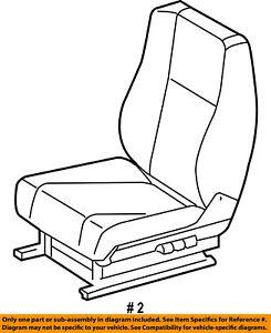 Dodge CHRYSLER OEM Sprinter 2500 Front Seat-Foam Cushion Pad Left 5133025AA