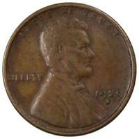 1929 S Lincoln Wheat Cent VG Very Good Bronze Penny 1c Coin Collectible