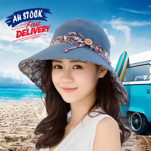 Summer Hat Women Travel Cap Folding Wide Brim Floppy Caps Beach Sun Hats