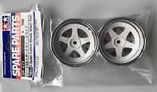 Tamiya 50673 5-Speichen 2-Teile Räder Breit (1 Paar) (TA01/TA02W) SPITZE
