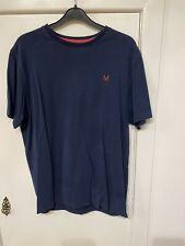 Mens Crew Clothing T Shirt Size L