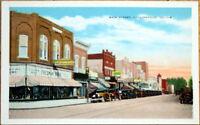 1920 Postcard: Main Street/Downtown - Collinsville, Illinois IL