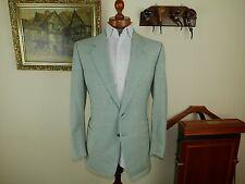 SALE! NEW! Pal Zileri Sport Coat green check Jacket 40 UK 50 EU RTP 1199.95