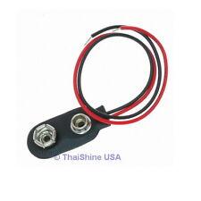10 x 9V 9-Volt Battery Clip / Connector - USA Seller - Free Shipping