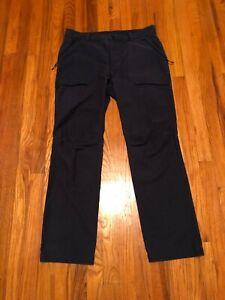Mountain Hardwear Men's Cargo Hiking Pants - BLUE - size 34 x 32