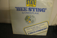 "12"" VINYL RECORD, CAMOUFLAGE, BEE STING, SPECIAL LTD ED, DISCO, DANCE, EXC COND"