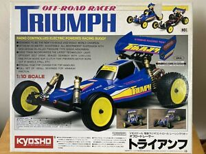 Kyosho TRIUMPH 1/10th Scale Radio Controlled Electric Powered Racing Buggy <NIB>