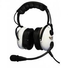 Avcomm White Knight Premium Stereo Headset w/ Flex-Boom - MP3/IPOD - AC-920 PNR