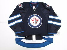 WINNIPEG JETS AUTHENTIC HOME TEAM ISSUED REEBOK EDGE 2.0 7287 JERSEY SIZE 52