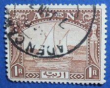 1937 ADEN 1R SCOTT# 9 S.G.# 9 USED                                     CS04202