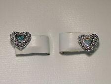 Turquoise Inlay Heart Post Earrings