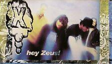 Exene Cervenka X 1993 Hey Zeus Original Promo Poster