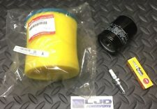 2002-2007 SUZUKI Eiger 400 Tune Up Kit OEM Air Filter + Spark Plug & Oil Filter