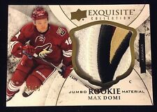 2015-16 MAX DOMI EXQUISITE JUMBO PATCH 4 COLOR RC  /35 Rookie ( Non Auto )