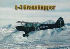 L-4 Grasshopper, World War 2 Airplane, Military Transportation, Plane - Postcard
