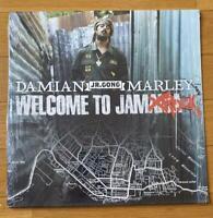 "Damian ""Jr. Gong"" Marley – Welcome To Jamrock 2LP 2005 US ORIG Tuff Gong"
