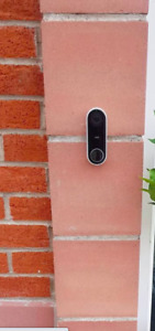 New Original Google Nest Hello Video Doorbell 6 month W/ Nest Aware Subscription