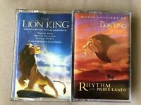 Disney The Lion King Original Soundtrack and Rhythm of Pride Lands Cassette Tape