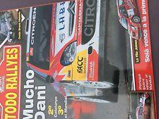 MAGAZINE TODO RALLYES  N°68 RALLY WRC ESPAGNE CITROEN LOEB ANNEE 2006 98 PAGES