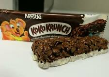 2x25g New,Nestle KoKo Krunch Chocolate Cereals Bars with Wheat Whole Grain