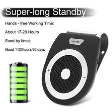 Wireless Bluetooth HandsFree Speaker Car Kit Visor Clip for Mobile Smart Phone A