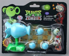 Plants vs Zombies PVZ Snow Pea ABS Shooting Bullets Figure Toy Gift for Kids