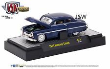 M2 Mercury Coupe 1949 Blue 32500-43 1/64