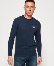 Superdry Mens Orange Label Crew Jumper