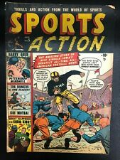 SPORTS ACTION #5 (1951) Marvel Atlas Comics VG+